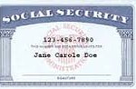 Blue Social Security Card