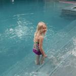 Adelyne in the Pool