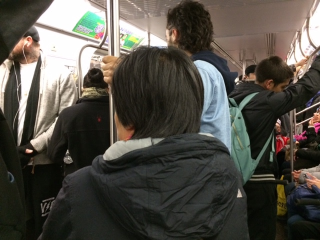 Immigrants On The Subway
