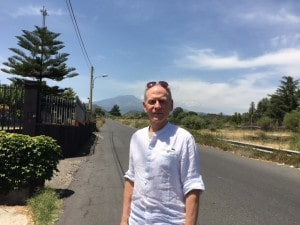 Nick Taylor and Mt. Etna, Sicilia