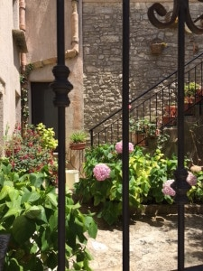 Private Courtyard in Erice Sicily
