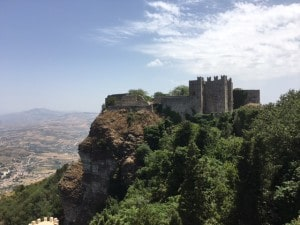 Fortress Town Erice Sicily